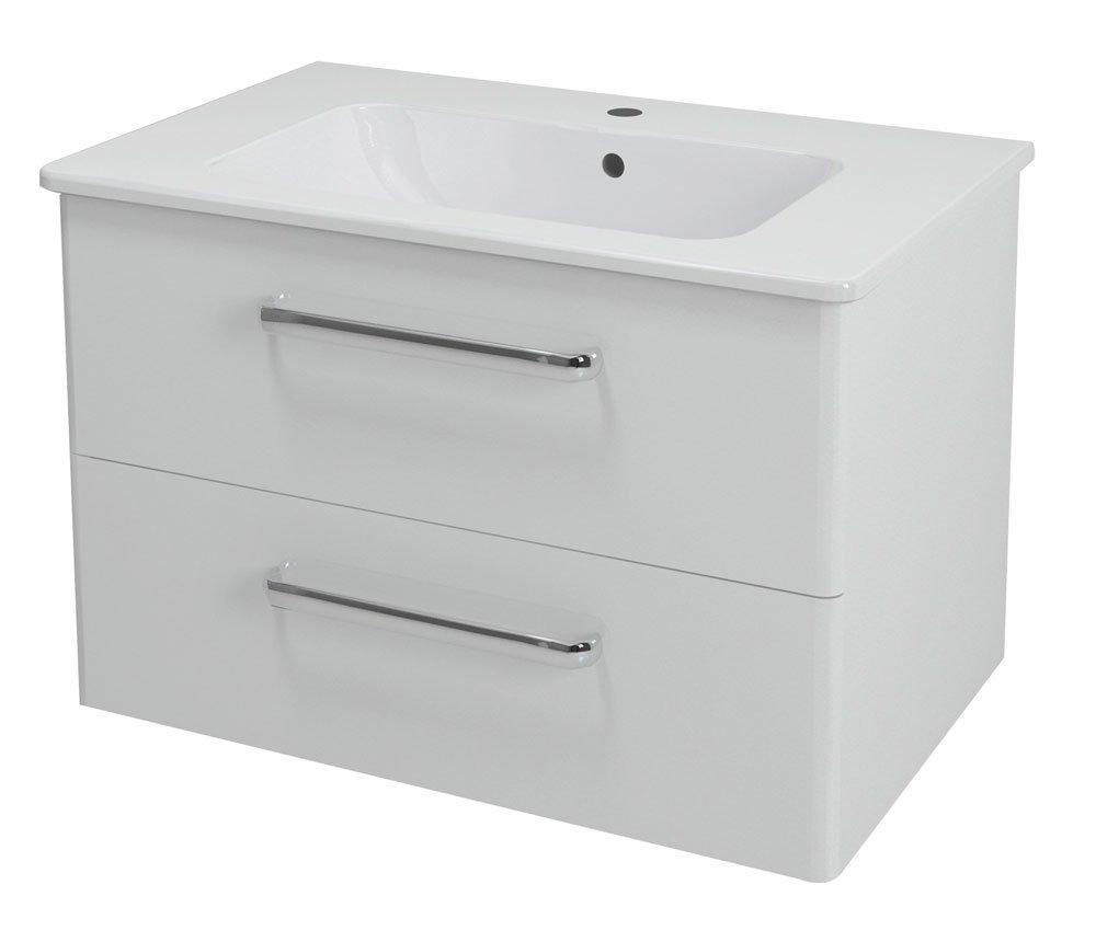 PURA umyvadlová skříňka 77x50,5x49cm, bílá PR081