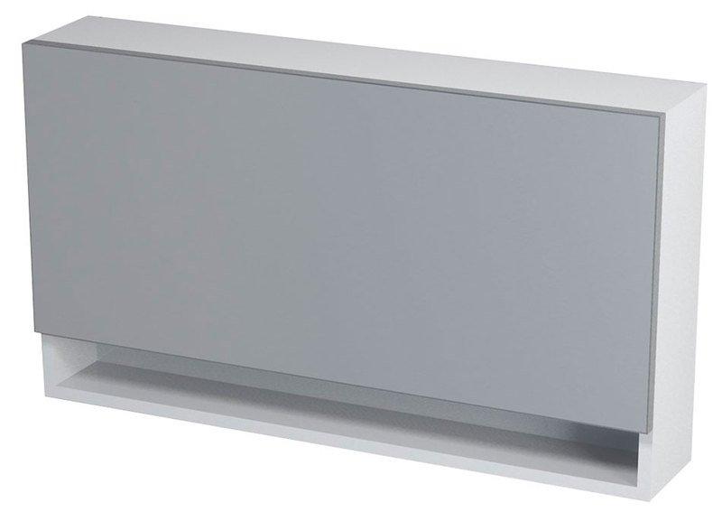 KLÁRA galerka s policí 90x51x18cm, bílá 56317
