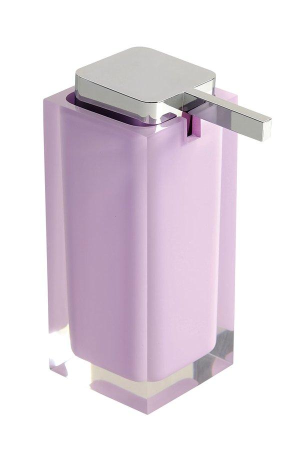 RAINBOW dávkovač mýdla na postavení, lila RA8079