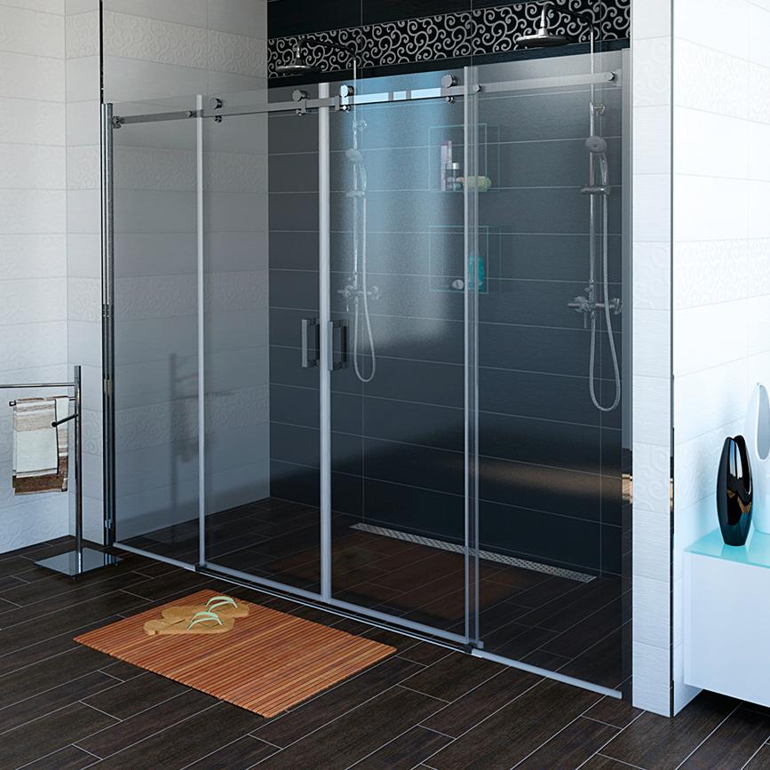 DRAGON sprchové dveře 1800mm, čiré sklo GD4810
