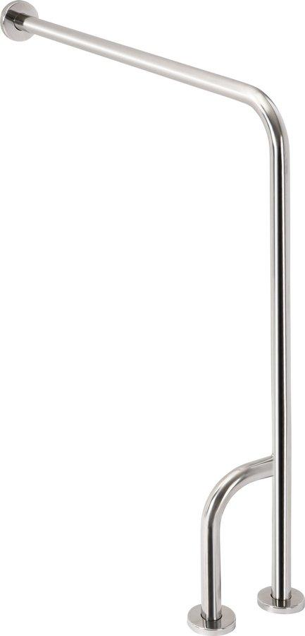 Opěrné madlo LEVÉ 800x850mm, nerez 301112131
