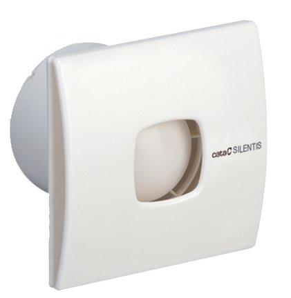 SILENTIS 10 T koupelnový ventilátor axiální s časovačem, 15W, potrubí 100mm,bílá 1071000