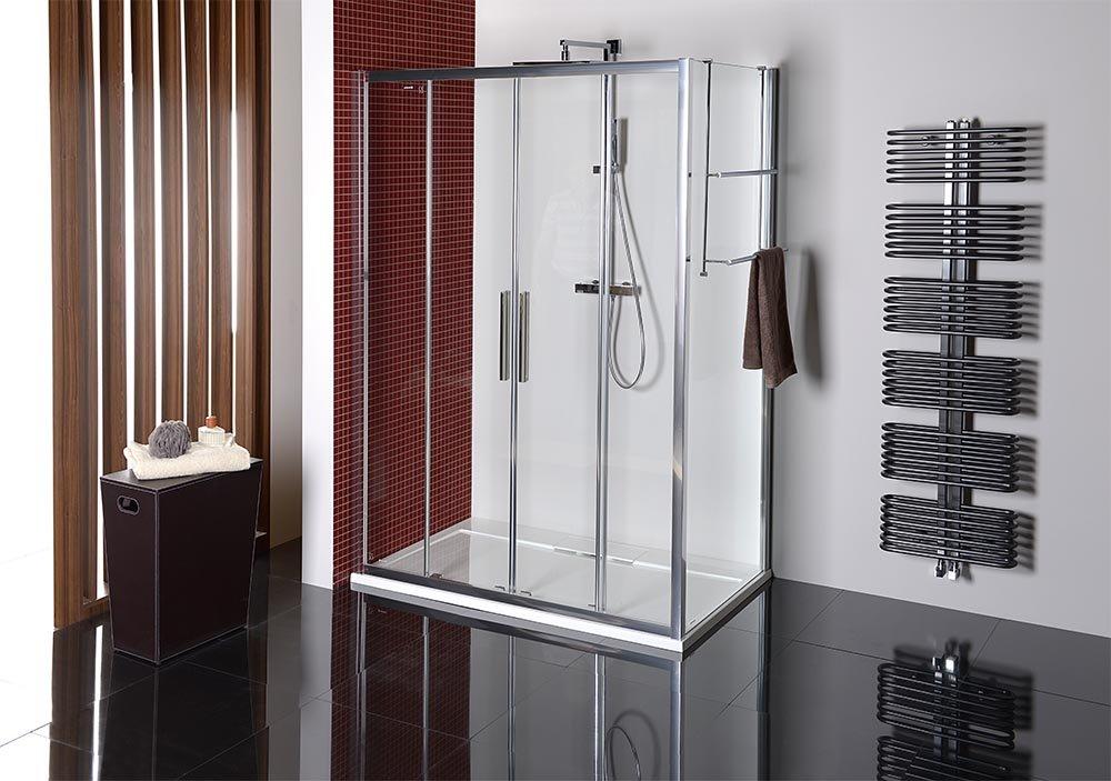 LUCIS LINE sprchová boční stěna 1000mm, čiré sklo DL3515