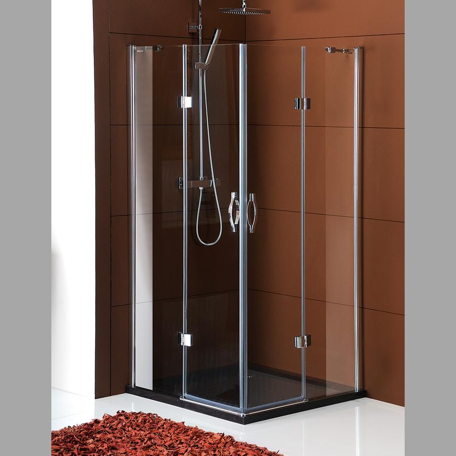 LEGRO čtvercová sprchová zástěna 900x900mm, čiré sklo GL2290