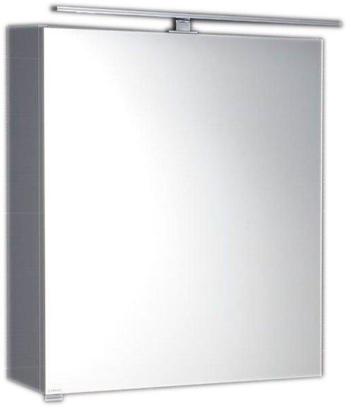 RIWA galerka s LED osvětlením, 50x70x17cm, bílá RW052