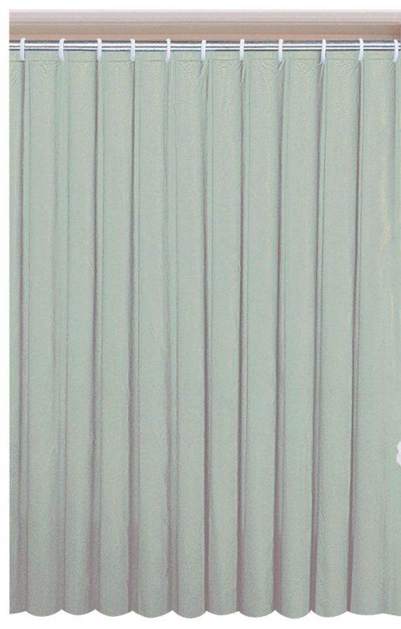 Závěs 180x200cm, vinyl, zelená 0201004 Z