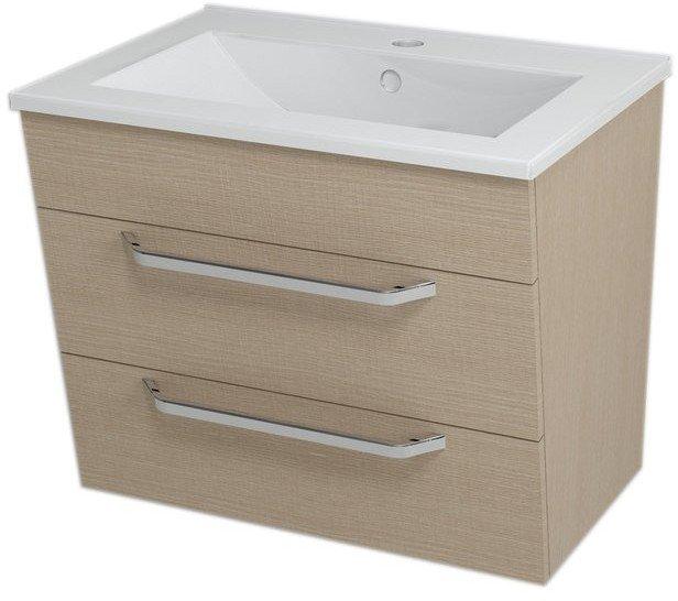 KALI umyvadlová skříňka 59x50x46cm, dub benátský 56065