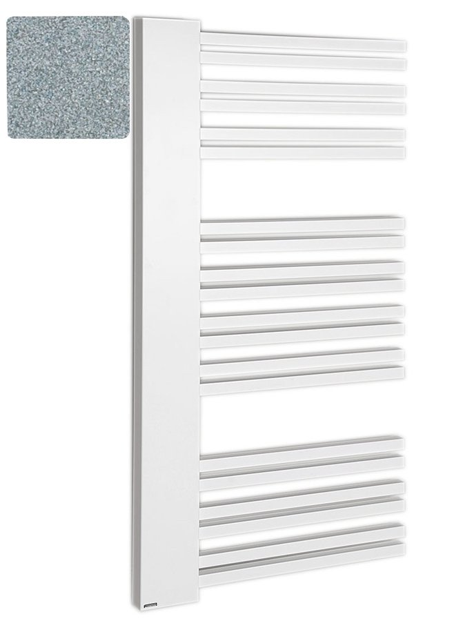 ALTALENA otopné těleso 600x1610mm, metalická stříbrná IR175