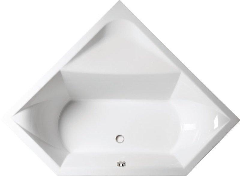 FLOSS rohová vana s podstavcem 145x145x50cm, bílá 8611