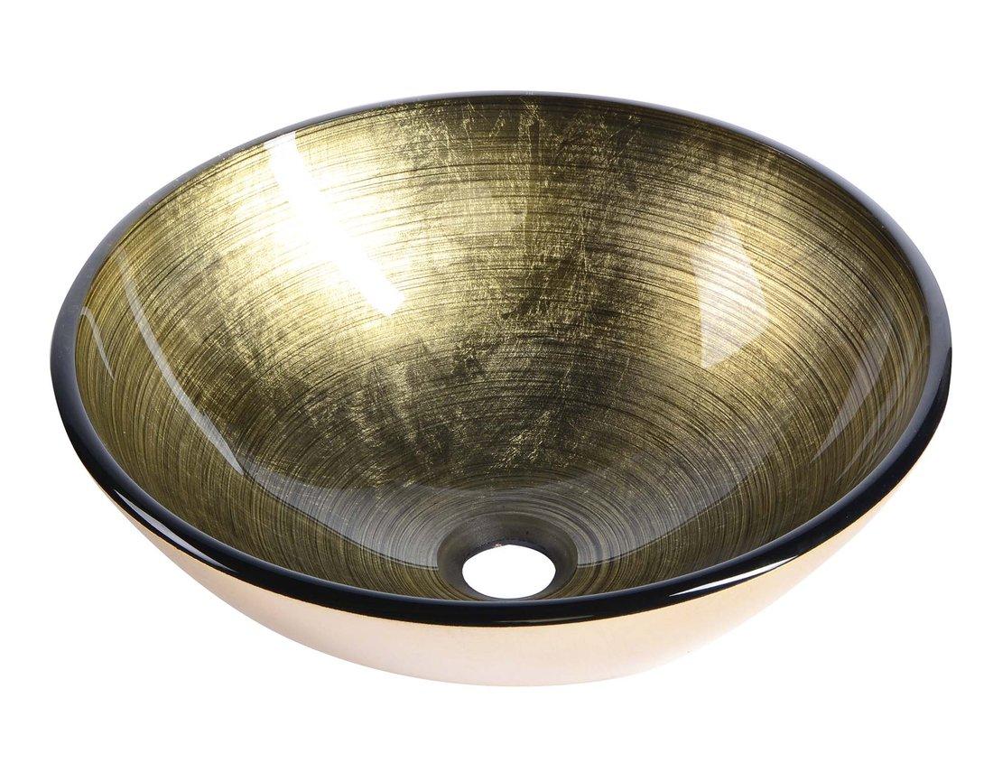 FIANNA skleněné umyvadlo průměr 42 cm 2501-21