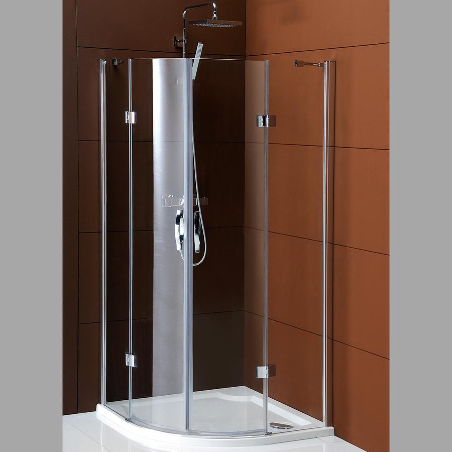 LEGRO čtvrtkruhová sprchová zástěna dvoukřídlá 1000x1000mm, čiré sklo GL5510
