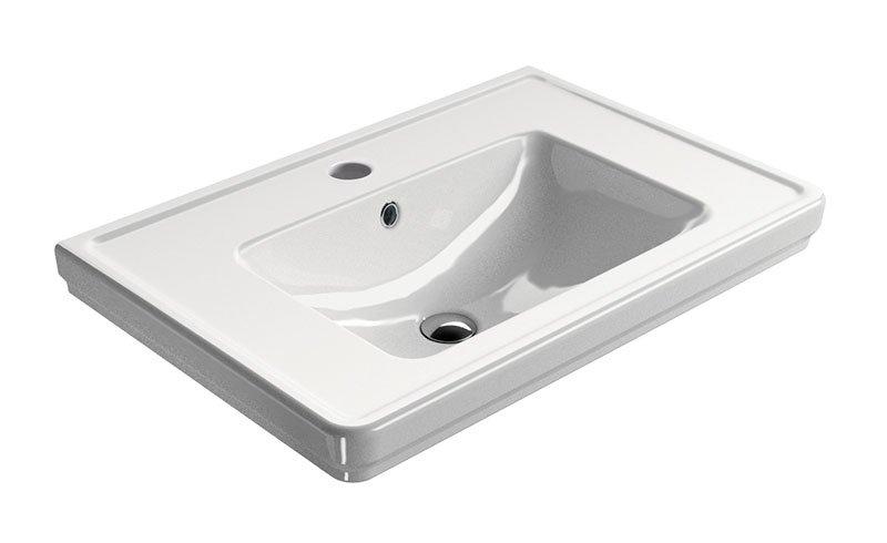 CLASSIC keramické umyvadlo 75x50 cm, ExtraGlaze 8787111
