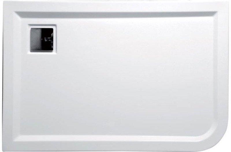 LUNETA sprchová vanička akrylátová, obdélník 120x80x4cm, levá 53511