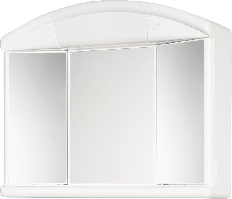 SALVA galerka 59x50x15,5cm, 1x40W, bílá plast 671232
