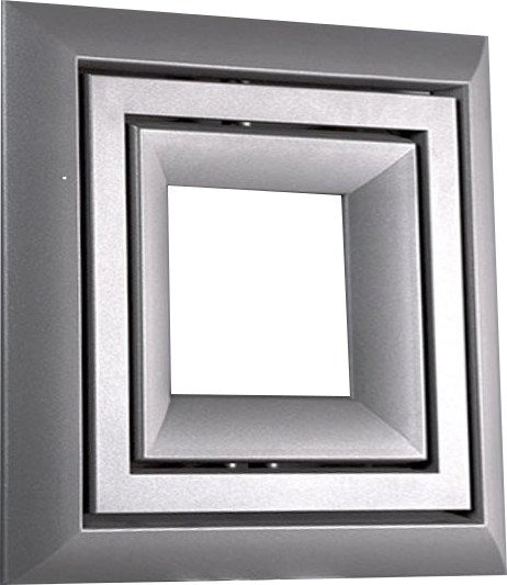 LIBRA SOFT otopné těleso 650x650mm, 466W, stříbrná strukturální LS-707S