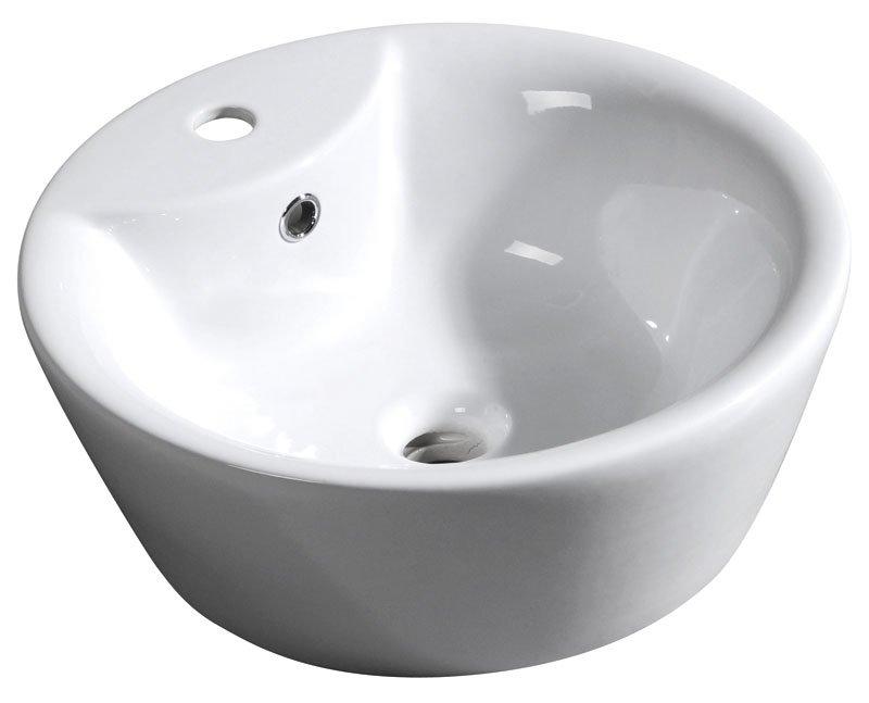 ARCO PLUS keramické umyvadlo 47x17cm, na desku 25100301