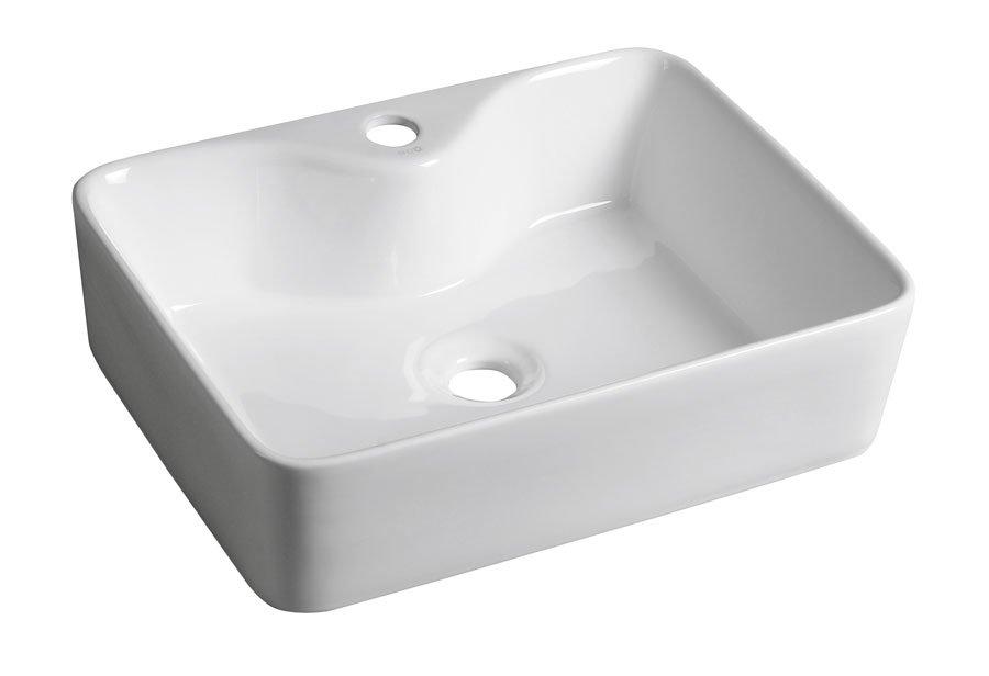 BALENA keramické umyvadlo 48x13,5x37 cm, na desku BH7013