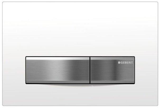 GEBERIT SIGMA50 ovládací tlačítko, alpská bílá 115.788.11.5