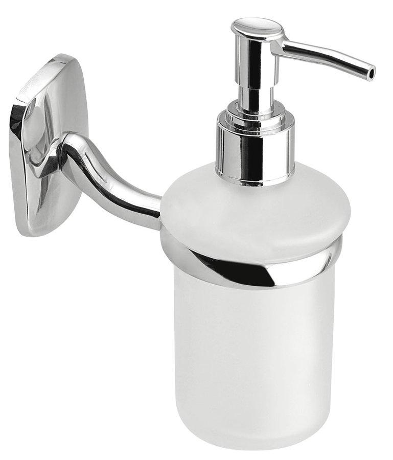 RUMBA dávkovač mýdla 150ml, mléčné sklo RB119
