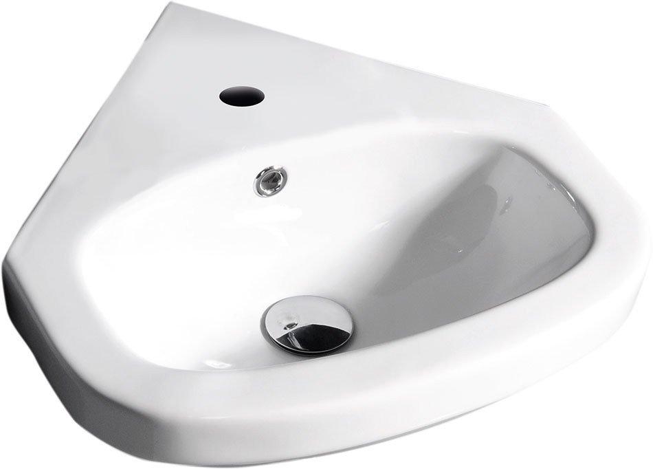 VITROYA keramické umyvadlo rohové 45x45cm VT145