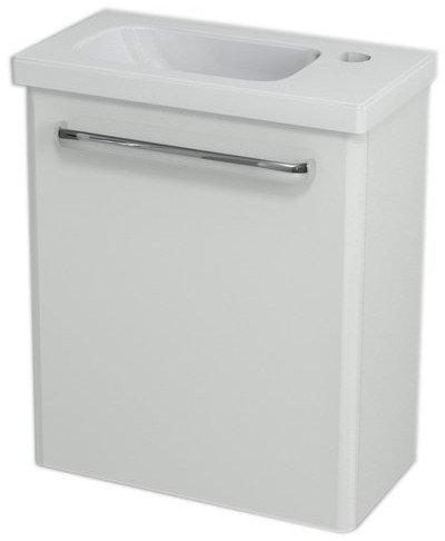 LATUS VII umyvadlová skříňka 43,6x50x19,5 cm, bílá 55910