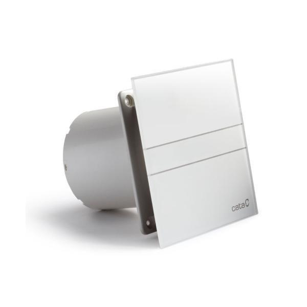 E-100 GT koupelnový ventilátor axiální s časovačem, 8W, potrubí 100mm, bílá 900100