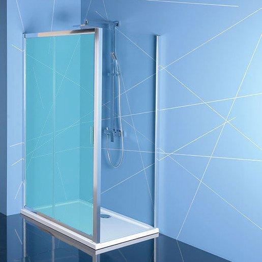 EASY LINE boční stěna 900mm, čiré sklo EL3315