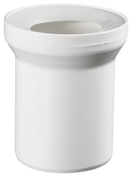 Přímý kus odpadní k WC 25cm 3225