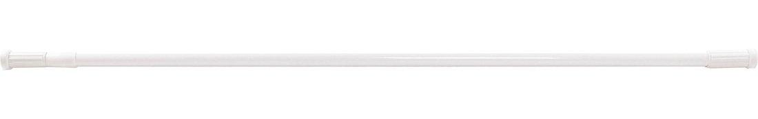 Teleskopická rozpěrná tyč 110-200 cm, hliník, bílá TC200