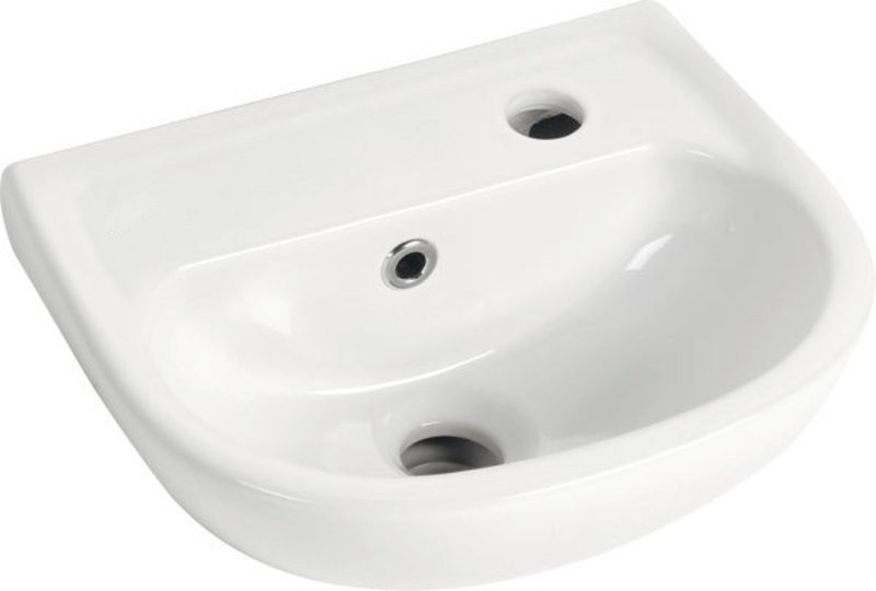 OVAL keramické umyvadlo 35x29cm TP135