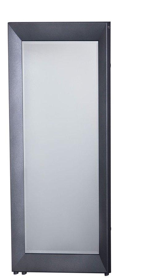 RAMA LUX otopné těleso se zrcadlem 595x1448mm, 651 W, grafit RML-614