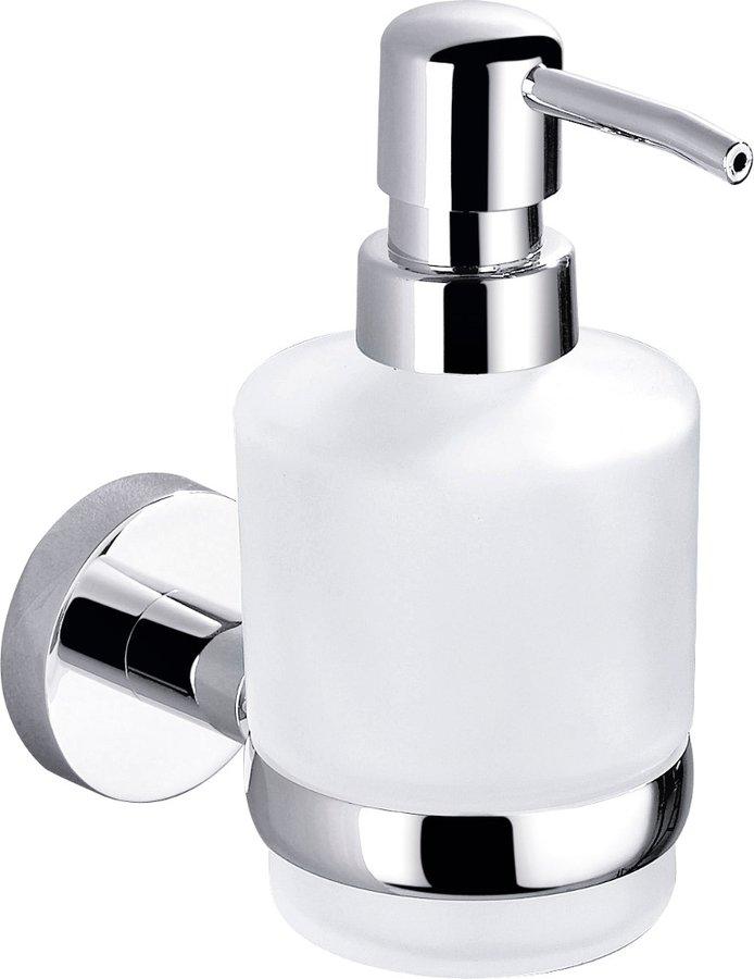CIRCLE dávkovač mýdla, mléčné sklo, chrom 1420-19