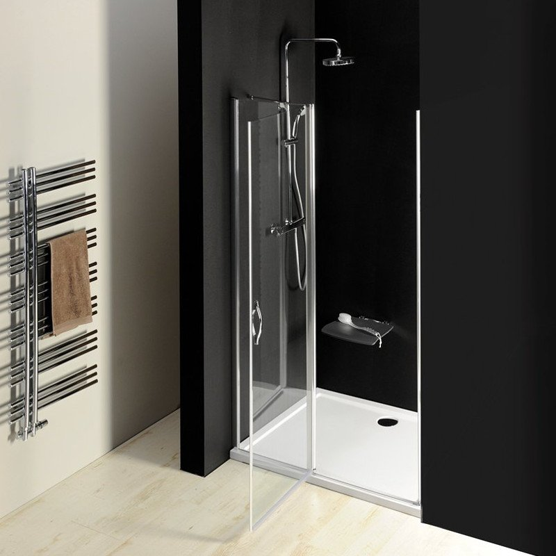 ONE sprchové dveře do niky 1400 mm, čiré sklo GO4414D
