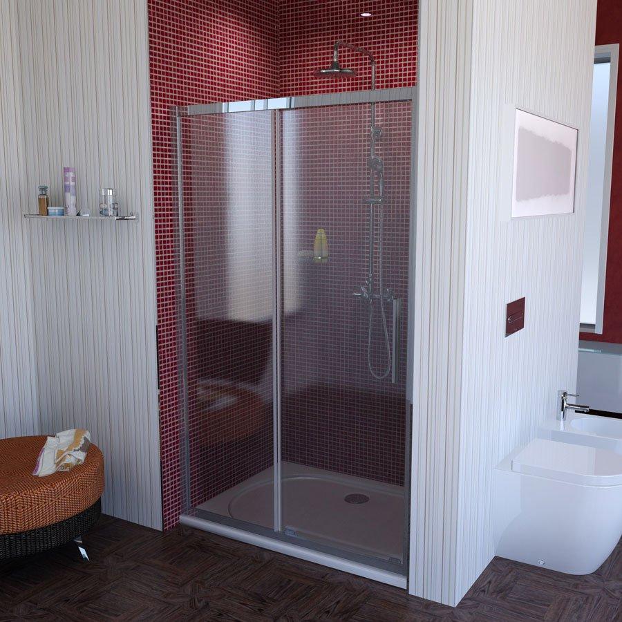 LUCIS LINE sprchové dveře 1200mm, čiré sklo DL1215