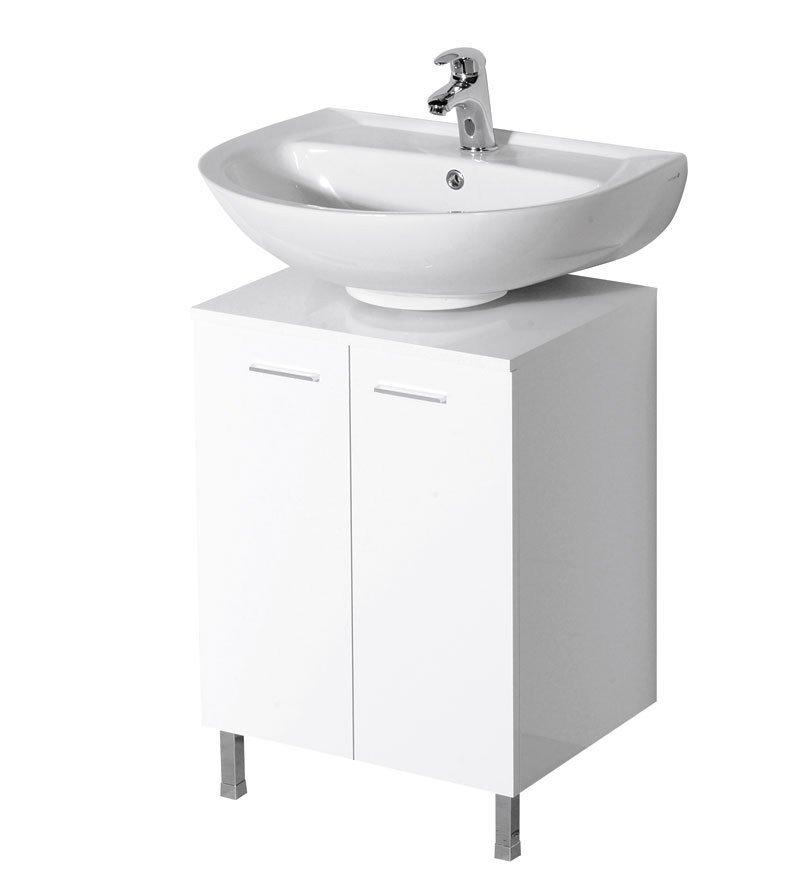 DINO skříňka pod umyvadlo 50x30x50cm, bílá 57030