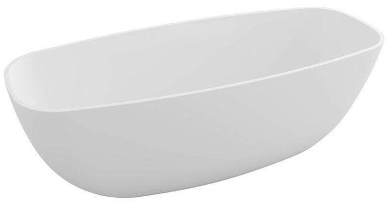 IPANEMA volně stojící vana, litý mramor, 168x72x54cm, bílá 69911