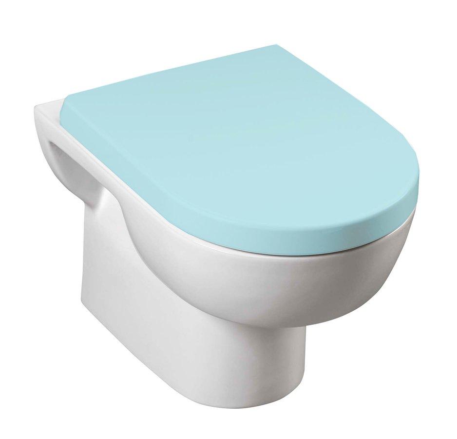 MODIS WC mísa závěsná 36x52 cm, bílá MD001