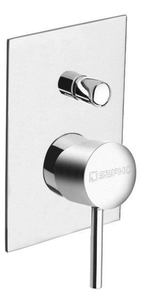 RHAPSODY podomítková sprchová baterie, 2 výstupy, chrom 5585Q