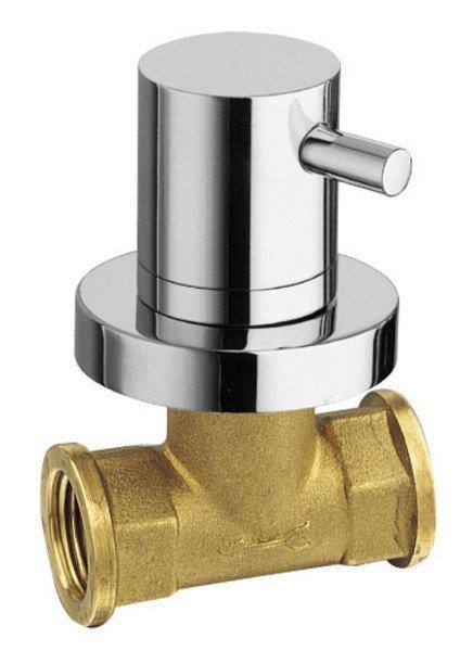 AIRTECH podomítkový ventil, teplá, chrom 405H