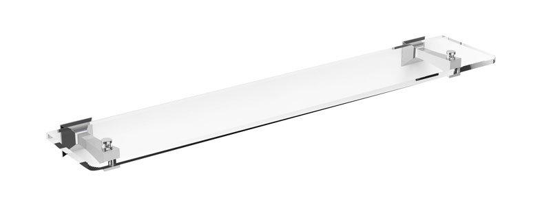 FIRENZE skleněná polička 600mm, čiré sklo FI10V