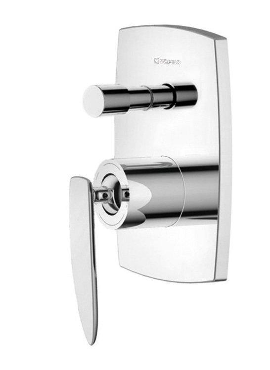 VENETA podomítková sprchová baterie, 2 výstupy, chrom VN42