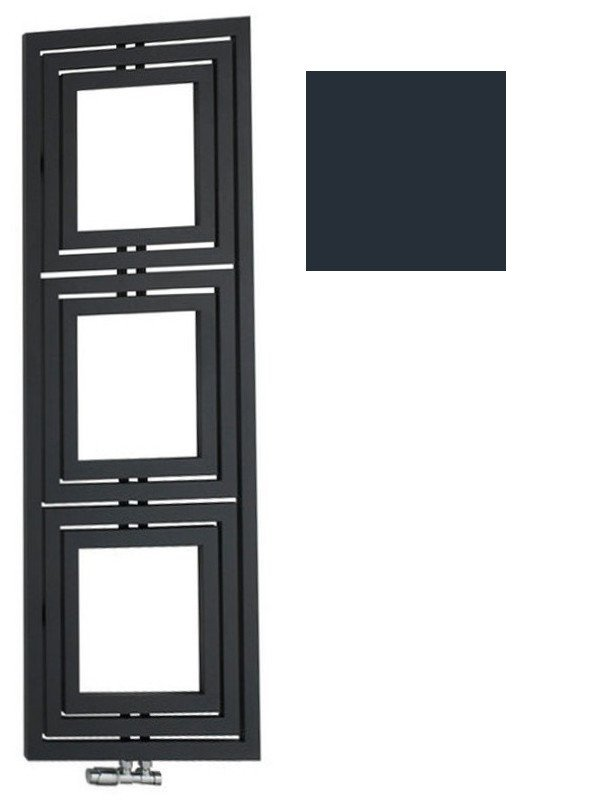 LIBRA TRIAL otopné těleso 600x1620mm, 909 W, antracit L-616A