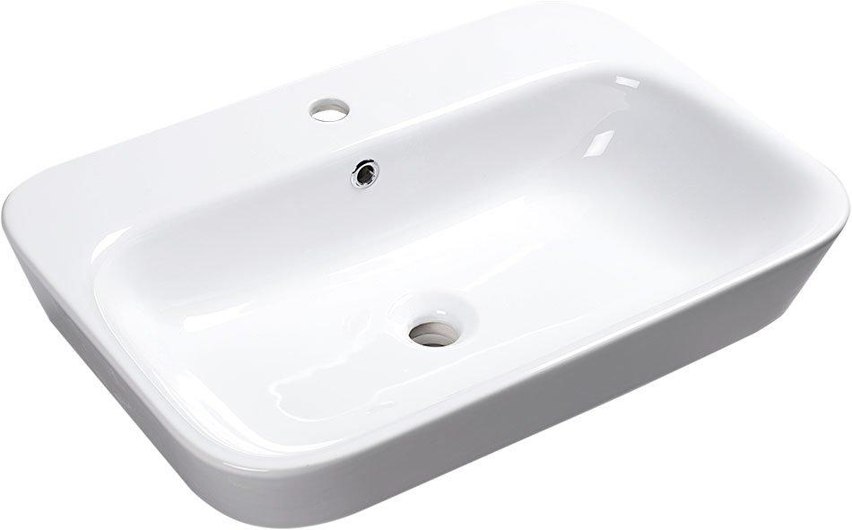 SAVANA keramické umyvadlo polozápustné, 65x17x45 cm 3065