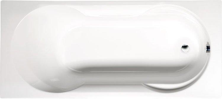 SATINA obdélníková vana s podstavcem 180x80x42cm, bílá 30111