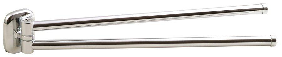 RUMBA otočný držák ručníků dvojitý, 450mm, chrom RB121