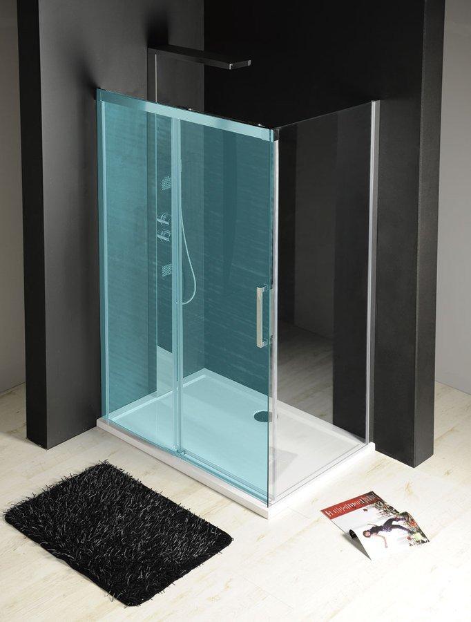 FONDURA boční stěna 1000mm, čiré sklo GF5001