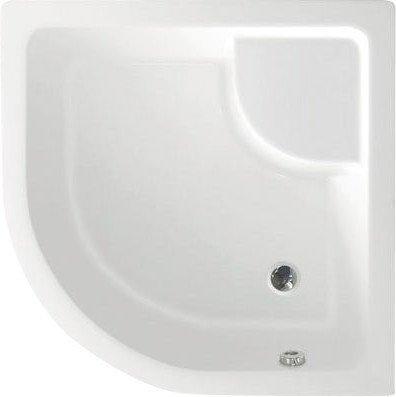 Sprchová vanička akrylátová, čtvrtkruh 90x90x28cm včetně nožiček, R550 C93