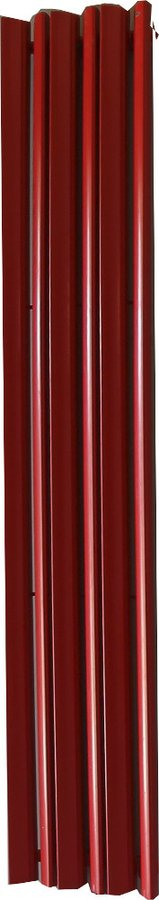 MANGO otopné těleso 340x1600 mm, 807 W, červená MG-316R