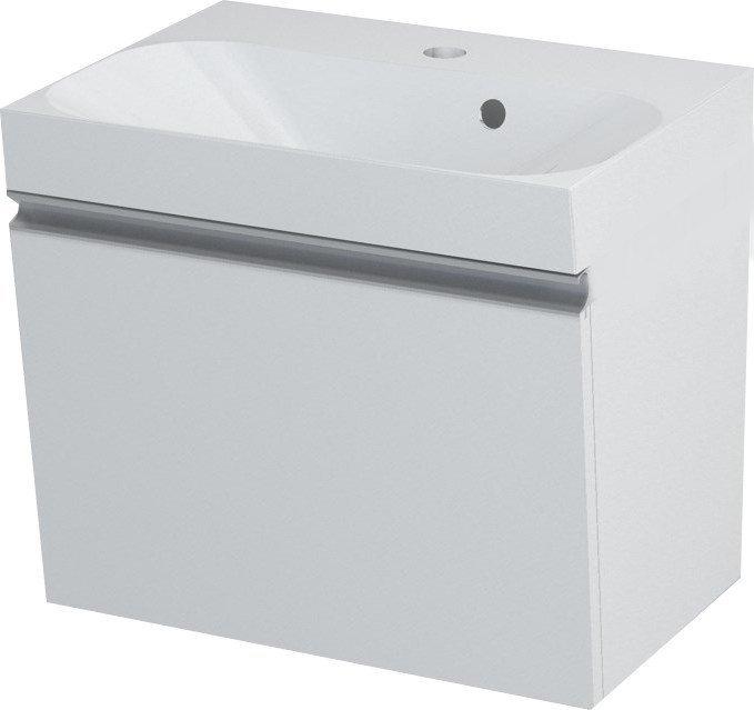 MELODY umyvadlová skříňka 50x38x34cm, bílá 56050