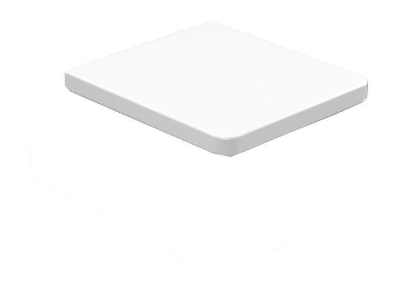 EGO WC sedátko Soft Close, termoplast, bílá 328801